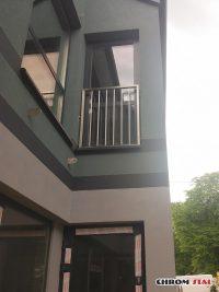 Balkony francuskie ze stali nierdzewnej