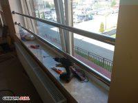 Nierdzewne zabezpieczenia okienne, stal nierdzewna - chromonikiel