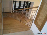 Najlepsze balustrady nierdzewne łączone z drewnem