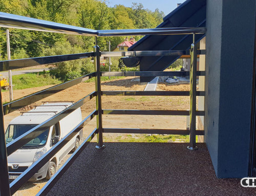 Nowoczesne balustrady na balkony i tarasy
